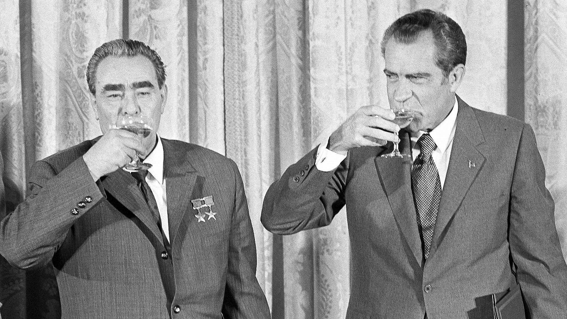Who Leonid Brezhnev saw as his successor