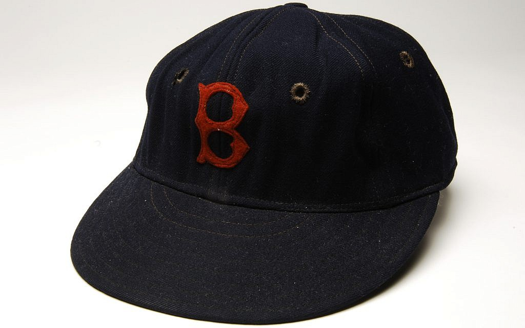Moe Berg's Boston Red Sox cap. (Milo Stewart Jr./National Baseball Hall of Fame and Museum)