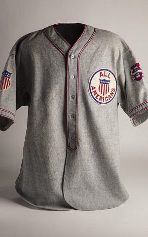 best service 349d5 362c2 The All-American jersey Moe Berg wore during his 1934 tour of Japan. (Milo  Stewart Jr. National Baseball Hall of Fame and Museum)