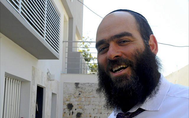 Arie Zeev Raskin, Chief Rabbi of Cyprus.  (Larry Luxner/ Times of Israel)