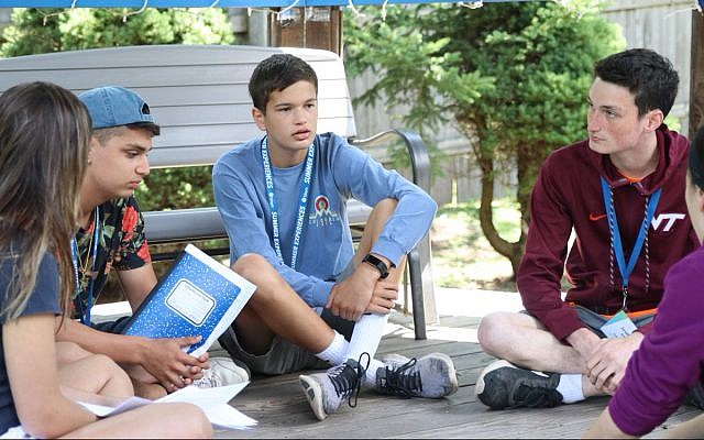 BBYO teens across the United States held discussions about fostering tolerance as part of the Oneday Against Hate campaign.  (Courtesy BBYO)