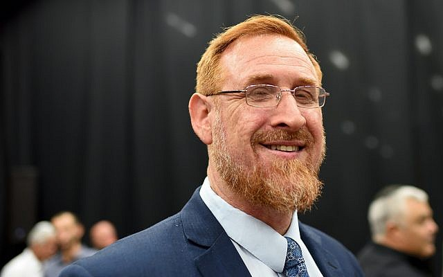Likud party MK Yehudah Glick in Tel Aviv, September 6, 2018. (Gili Yaari/FLASH90)