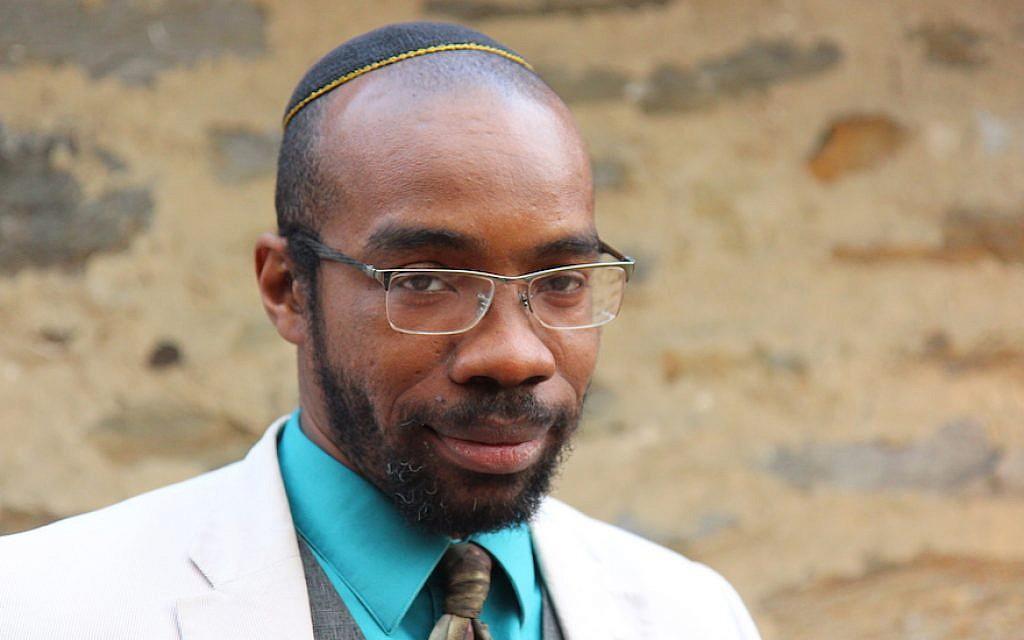 Shais Rishon's latest book, 'Ariel Samson: Freelance Rabbi,' tells the story of a 20-something black spiritual leader. (Courtesy of Rishon/via JTA)