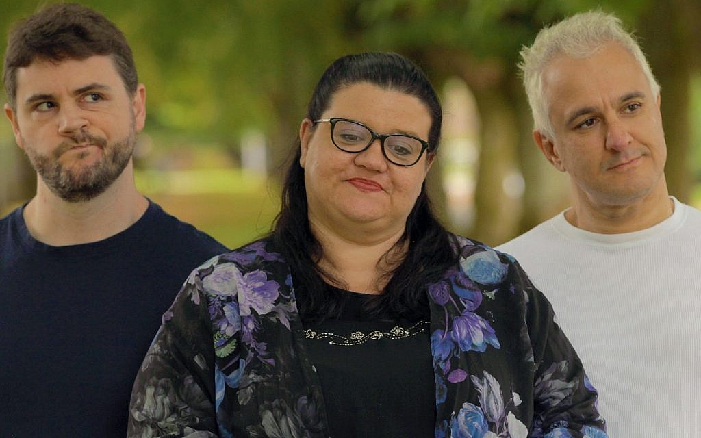Perpetrators of an elaborate hoax against academic journals (from left) mathematics Ph.D. James Lindsay, UK academic Helen Pluckrose and philosophy professor Peter Boghossian. (courtesy)