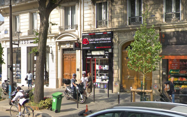 Nathan les bons plans phone store in Paris. (Screen capture: Google Maps)