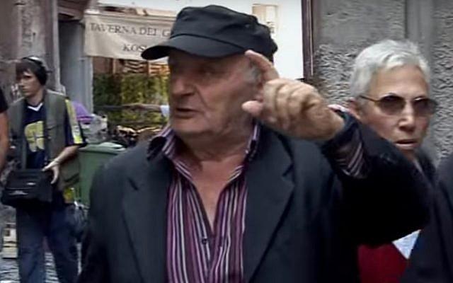 Lello Di Segni (Screen capture: YouTube)