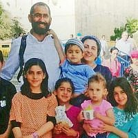 The Atar family, killed in a car crash near the Dead Sea on October 30, 2018. (Courtesy)