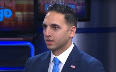 Republican Muslim US Congress candidate Omar Qudrat. (Screenshot: YouTube)