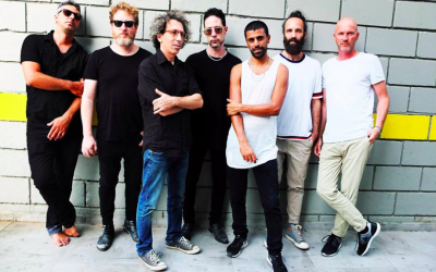 The Israeli bands The Giraffes and Balkan Beat Box come together for a one-time recording and show on October 19, 2018 in Binyamina's Shuni ampitheater (Courtesy The Giraffes)