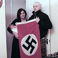 Adam Thomas and Claudia Patatas, accused neo-Nazis who named their baby after Hitler. (West Midlands Police via BBC)