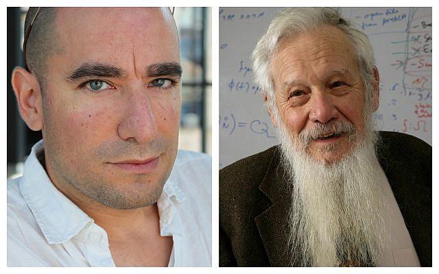 Left: author Benjamin Balint; right: Prof. Yisrael Robert Aumann. (Courtesy)