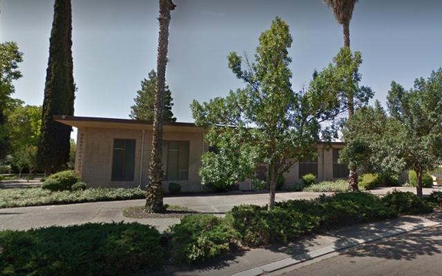 Congregation Beth Shalom in Modesto, California. (Screen capture/Google Street View)