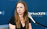Chelsea Clinton at the SiriusXM Studio in New York City, Sept. 13, 2018. (Cindy Ord/Getty Images for SiriusXM)