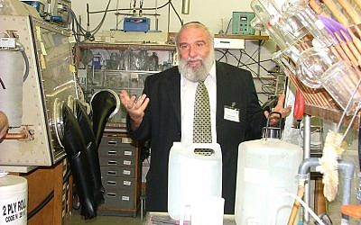 Prof. Doron Aurbach, a professor of Chemistry at the Bar Ilan University in Israel  (Courtesy)