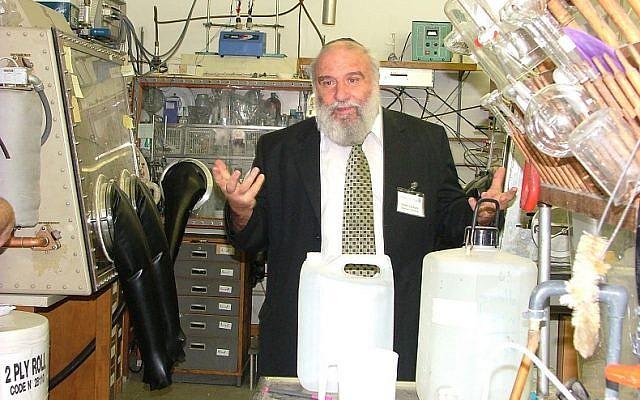 Prof. Doron Aurbach, a professor of Chemistry at the Bar Ilan University in Israel  (Courtesy)