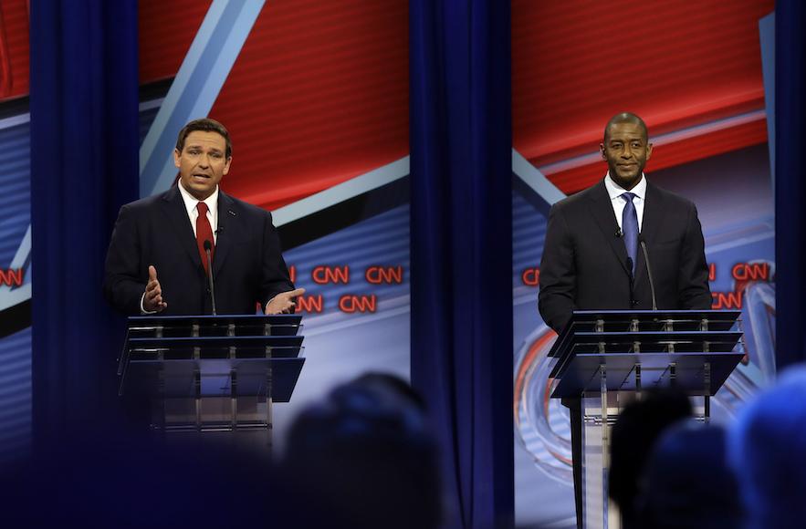 Debate Night In Tampa Gillum Vs