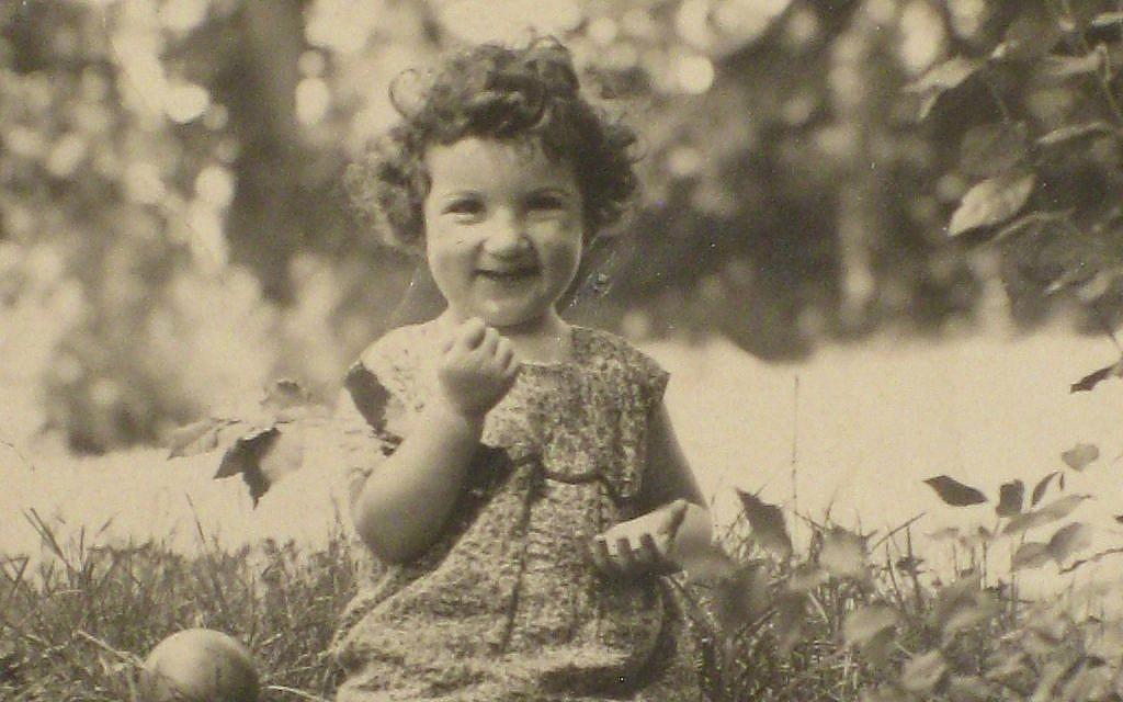 Bunny North, née Brunhilde Bachenheimer, as a child in Kirchhain, 1931. (Courtesy)