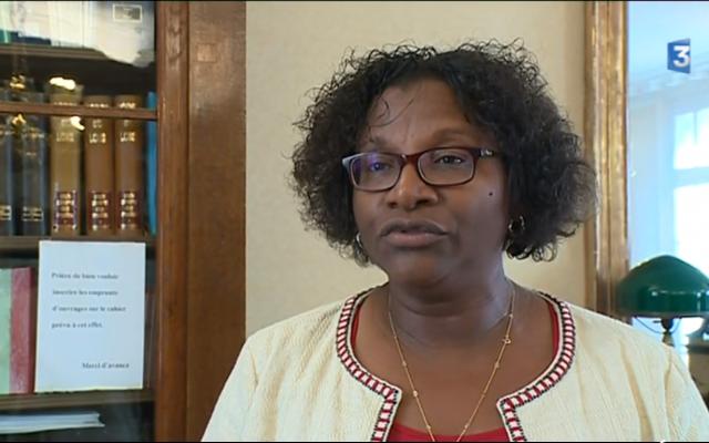 French investigating judge Helene Morton (screenshot France 3)