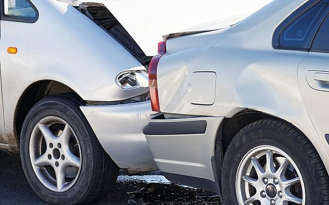 Illustrative image of a car accident (Mark_KA; iStock by Getty Images)