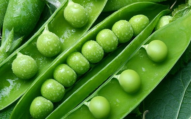Illustrative image of green peas (ValentynVolkov; iStock by Getty Images)