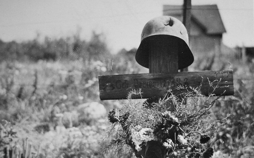 A still from the Russian WWII documentary 'Ost Front' directed by Andrey Osipov and financed by the Russian Ministry of Culture. (Courtesy)
