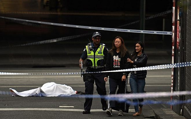 Aussie police treat Melbourne stabbing attack as terrorist incident