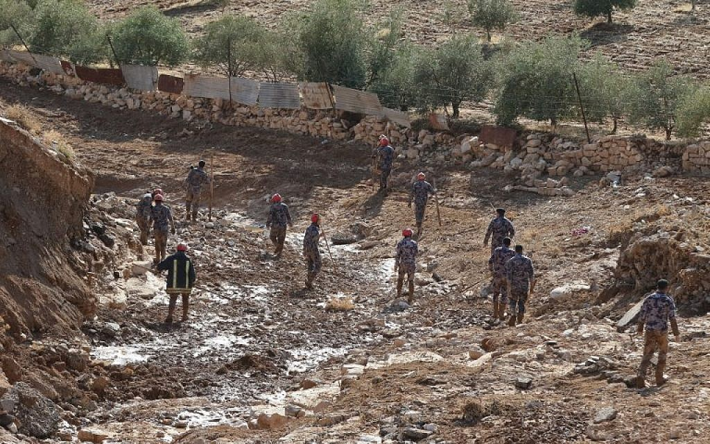 Two Israeli tourists found safe as flash floods kill 12 in Jordan