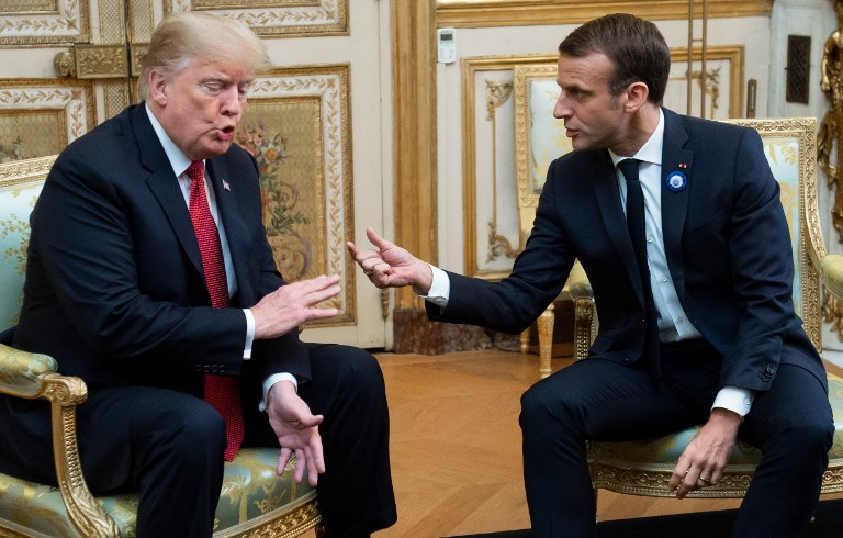 Kicking off NATO meeting, Trump lashes Macron for 'very nasty' criticism |  The Times of Israel