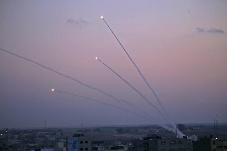 Risultati immagini per gaza rockets