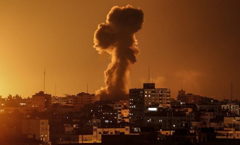 Israeli Jets Strike Hamas Targets In Gaza After Rocket Fire