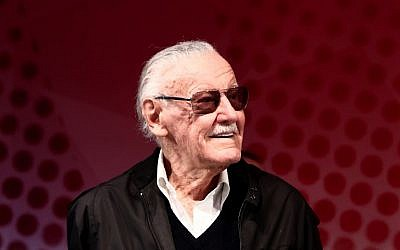 US comic book writer Stan Lee attends a talk show during the Tokyo Comic Con in Chiba, a suburb of Tokyo, Japan, on December 2, 2016. (Behrouz MEHRI / AFP/ File)