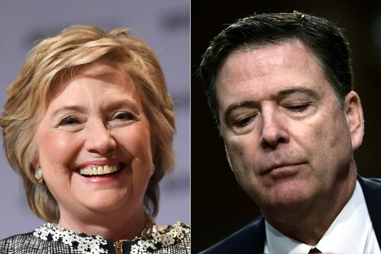 Trump wanted to order Justice Dept to prosecute Clinton, Comey