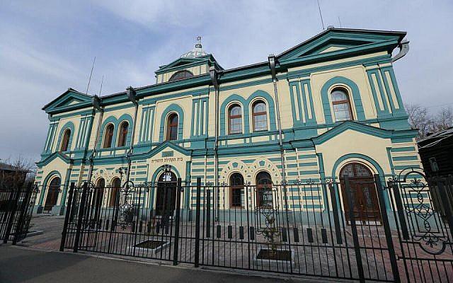 The synagogue of Irkutsk, originally inaugurated in 1879. (Dorit Wagner/ Jewish Community of Irkutsk)