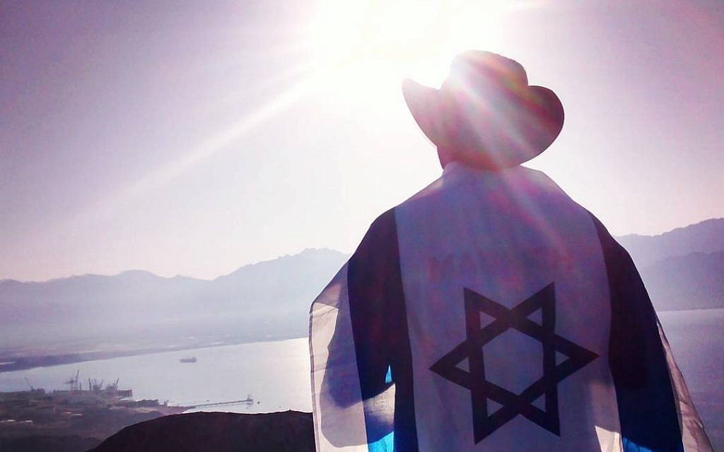 Daniel Charter hails from Texas, and is now an Israeli tour guide. (Courtesy)