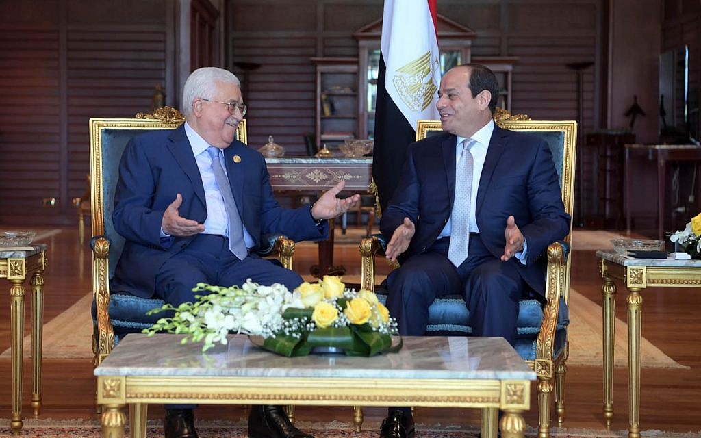 Abbas, Sissi meet on backdrop of ceasefire, reconciliation efforts
