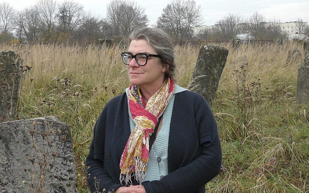 American Peace Corps volunteer Patricia Deignan. (Bernard Dichek/ Times of Israel)