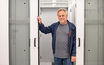 Eugene Kaspersky, the CEO and founder of Russian cybersecurity firm Kaspersky Lab (Courtesy)