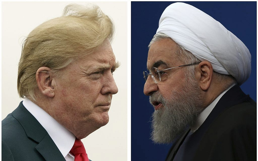 US said to reassure Israel Iran sanctions will stay even if Trump, Rouhani meet