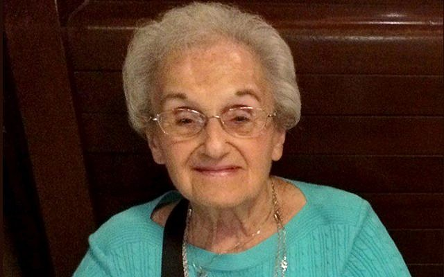 This undated family photo provided by the University of Pittsburgh Medical Center (UPMC) shows Rose Mallinger, 97, who was one of the people killed on when a gunman opened fire at the Tree of Life synagogue in Pittsburgh on Saturday, Oct. 27, 2018. Her daughter, Andrea Wedner, was among the wounded. (Courtesy of the Mallinger family/UPMC via AP)