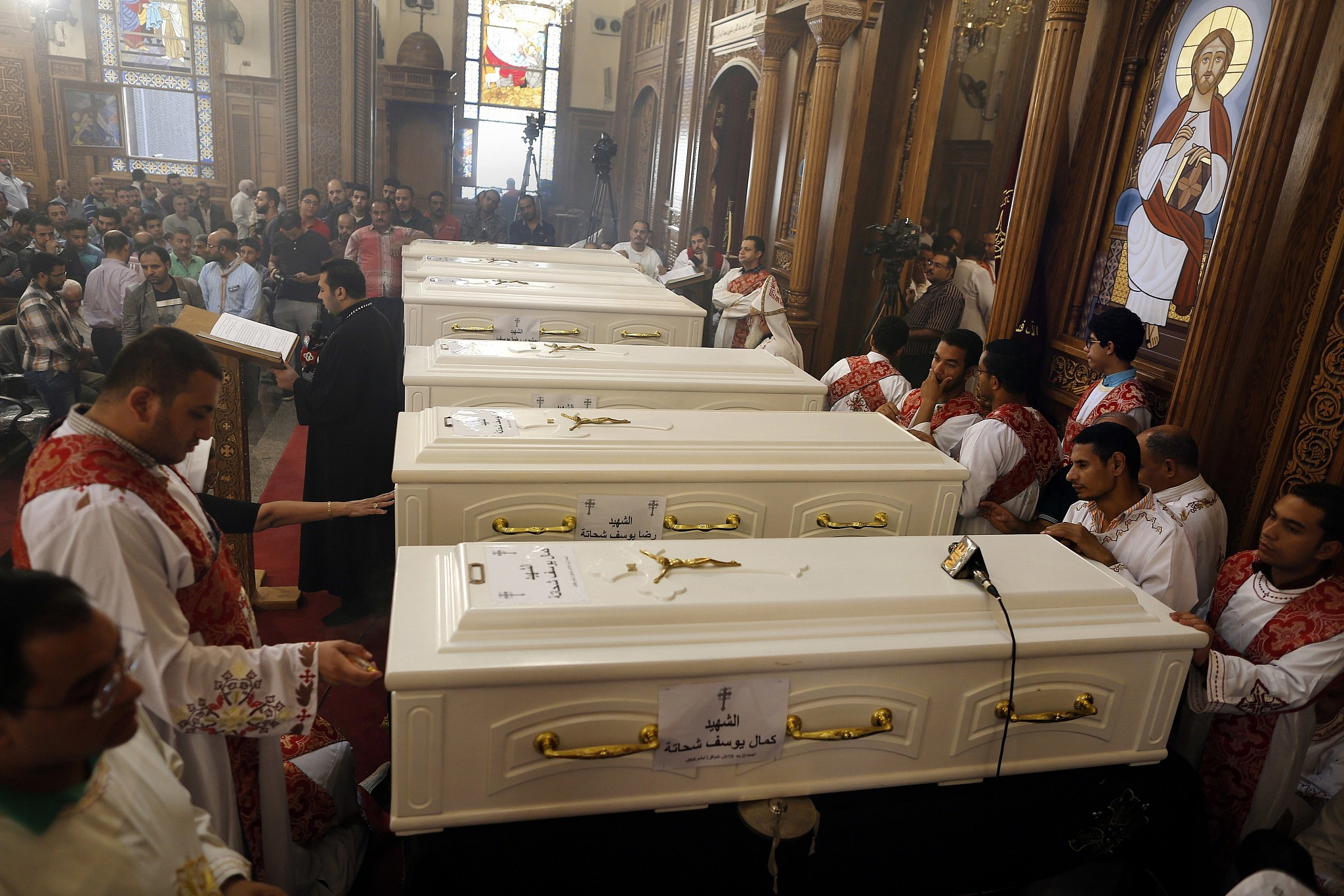 Egypt says perpetrators of attack against Christians killed