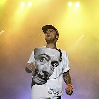 Rapper Mac Miller performs on his Space Migration Tour at Festival Pier in Philadelphia, July 13, 2013. (Photo by Owen Sweeney/Invision/AP, File)