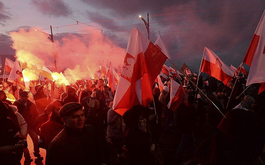 Polish leaders to join anti-Semitic nationalist at Independence Day march