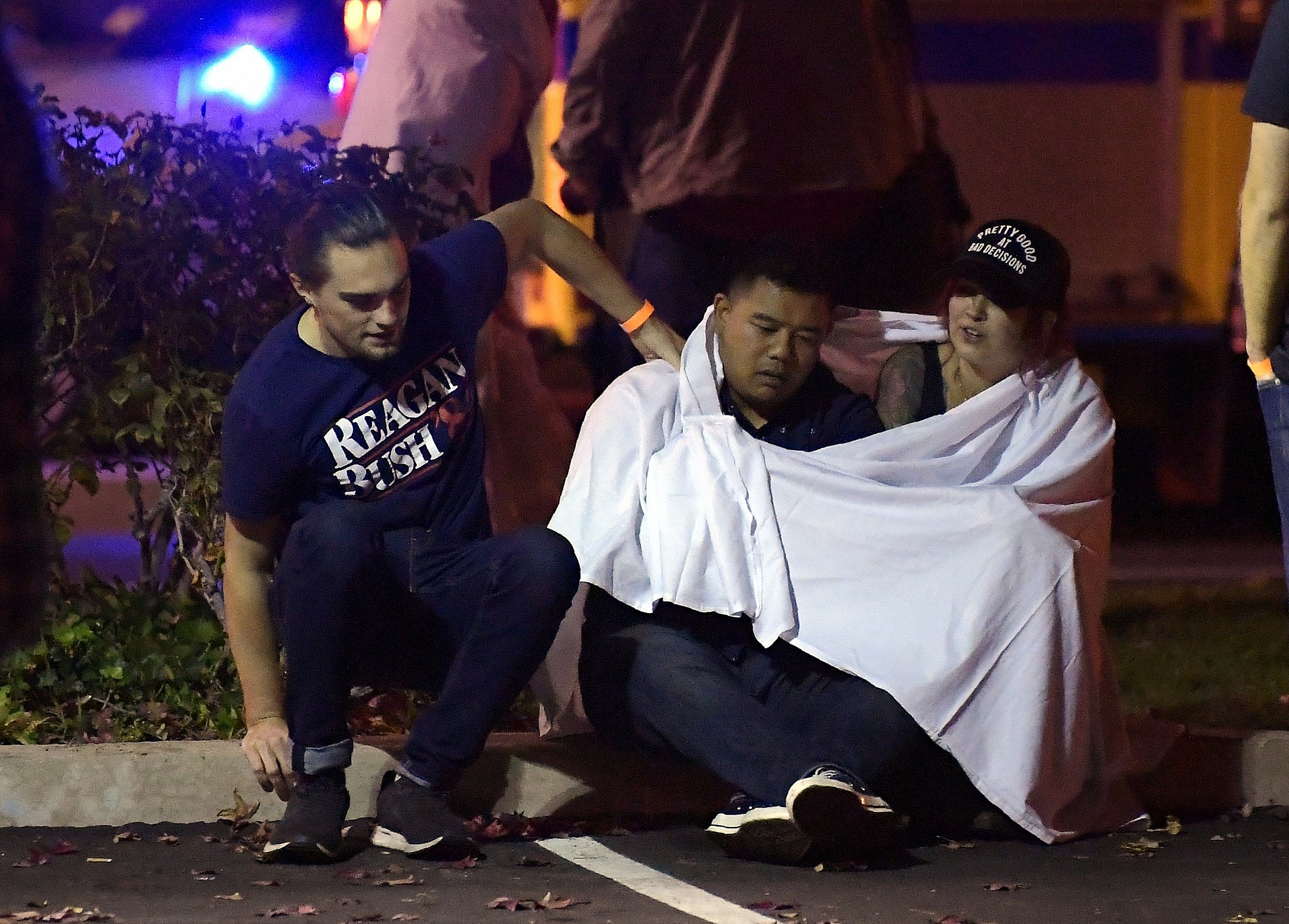Thousand Oaks Calif. where a gunman opened fire Wednesday inside a country dance bar crowded with hundreds of people