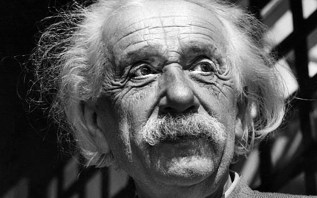 This June, 1954, file photo shows renowned physicist Albert Einstein in Princeton, N.J. More than a decade before the Nazis seized power in Germany, Albert Einstein was on the run and already fearful for his country's future, according to a newly revealed handwritten letter. (AP Photo, File)