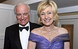 In this 2012 file photo, Lana Marks and her husband, Dr. Neville Marks, are shown at the 2012 Mental Health Association of Palm Beach County, Inc. Bell Society Dinner at The Colony Hotel in Palm Beach, Fla. President Donald Trump has nominated Lana Marks, a South Florida-based luxury fashion and handbag designer, to be the new U.S. ambassador to South Africa. Marks is a native South African who speaks Xhosa and Afrikaans. The White House announced her nomination late Wednesday. (Meghan McCarthy/Palm Beach Post via AP)