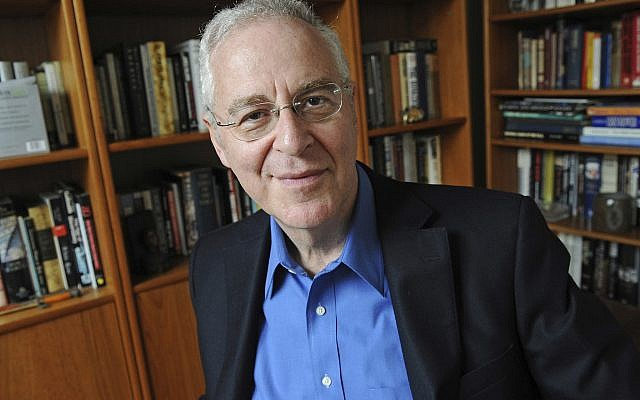 Author Ron Chernow at his home in Brooklyn, New York, on April 18, 2011. (AP Photo/Louis Lanzano, File)