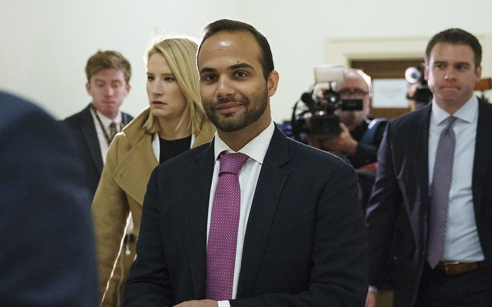 George Papadopoulos faces prison on Monday after judge rejects delay