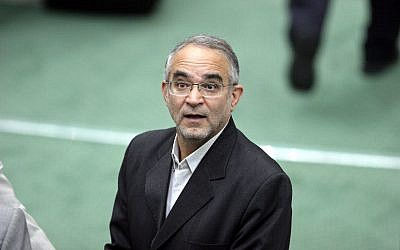 Iran's minister of Social Welfare, Abdolreza Mesri in Tehran, Iran on Oct. 29, 2006. (AP Photo/Vahid Salemi)