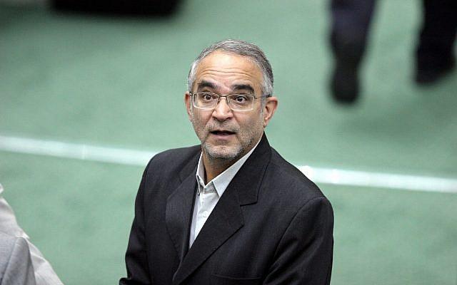 Iran's minister of Social Welfare, Abdolreza Mesri in Tehran, Iran on Oct. 29, 2006. (AP Photo/Vahid Salemi)