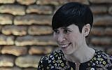 Norwegian Foreign Minister Ine Marie Eriksen Soreide during a lunch at the government house in Buenos Aires, Argentina, March 6, 2018 (AP Photo/Natacha Pisarenko)